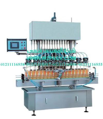 آلة تعبئة السوائل اللزجة التى نقدمها نحن شركة المهندس منسي ...